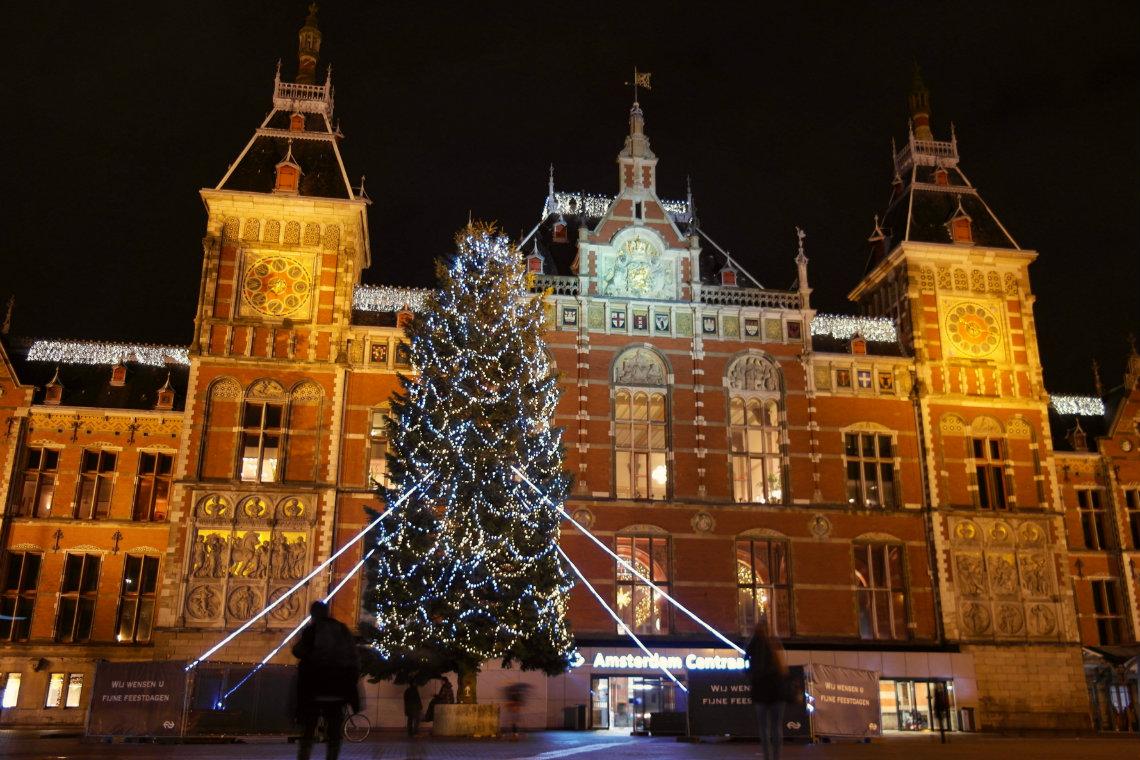 Amsterdam im Winter