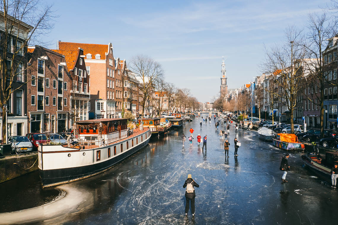Amsterdam im Winter