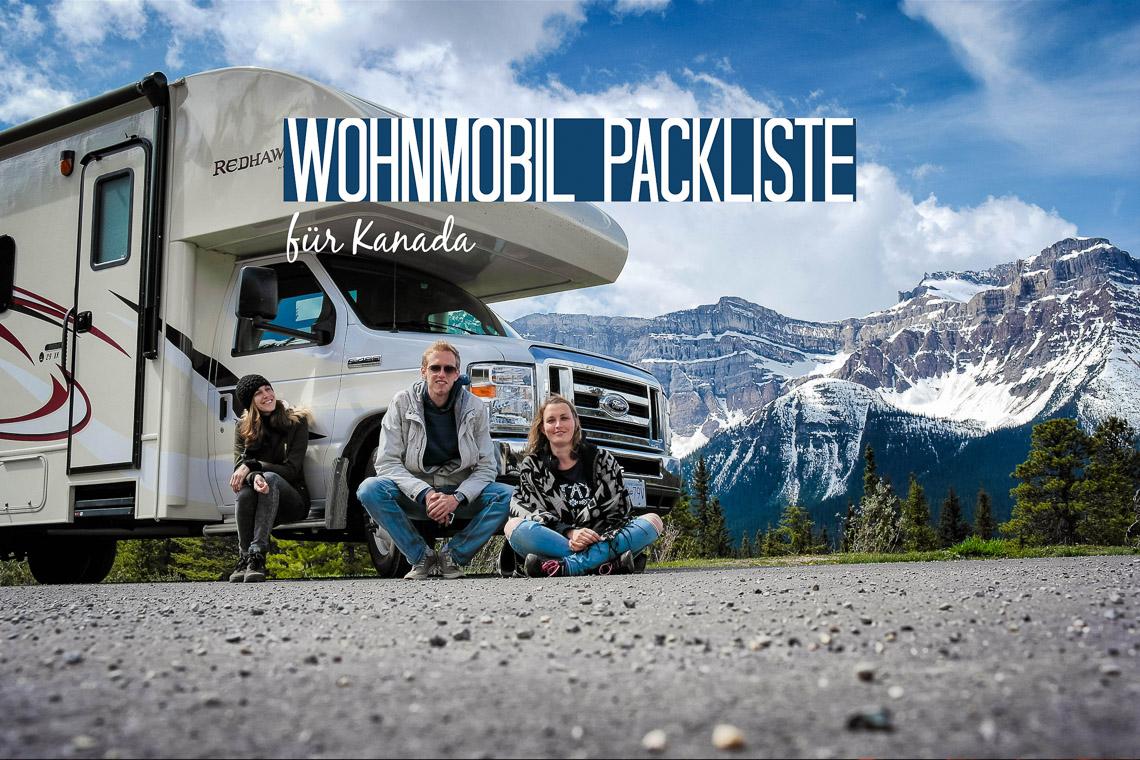 Die ultimative Wohnmobil-Packliste für Kanada - paradise-found.de