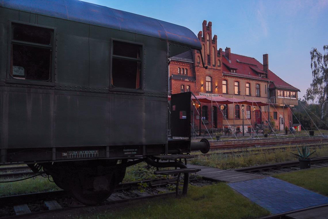Das perfekte Wochenende im Fläming - Bahnhof Rehagen