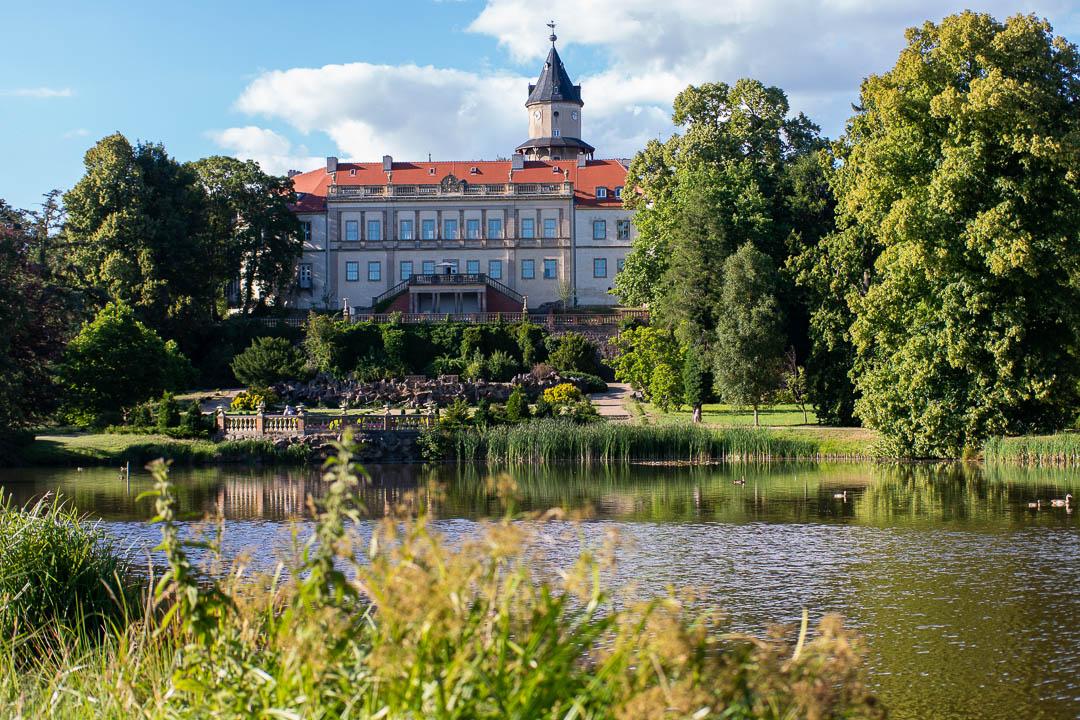 Besondere Ausflugsziele im Fläming - Schloss Wiesenburg