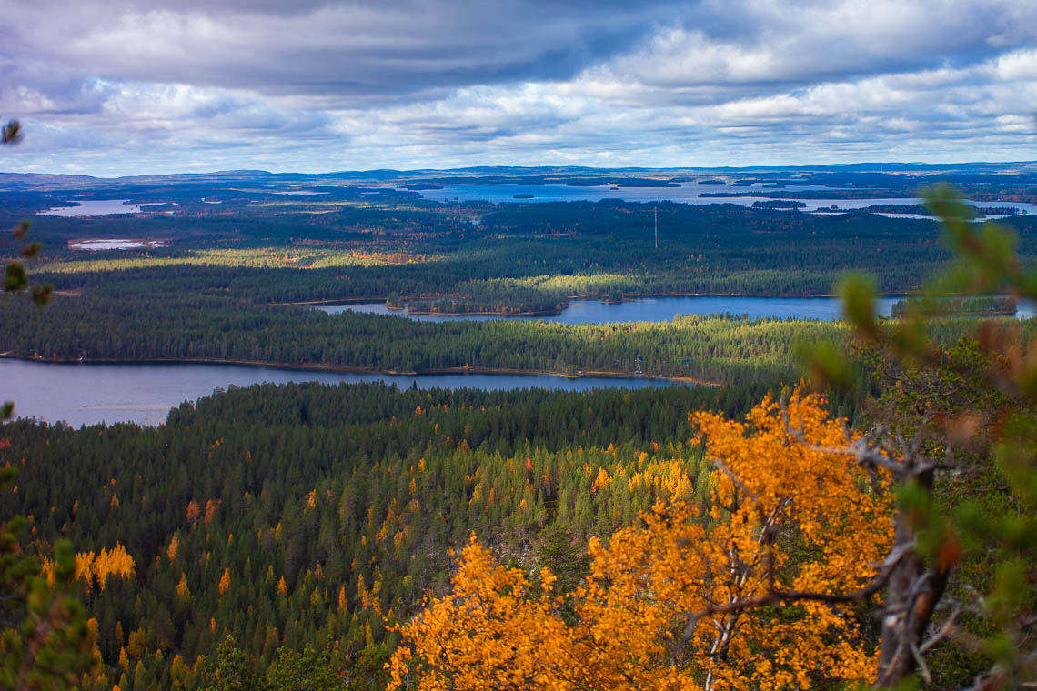 Indian Summer in Lappland - Aktivurlaub im herbstlichen Lappland - Konttainen Hill