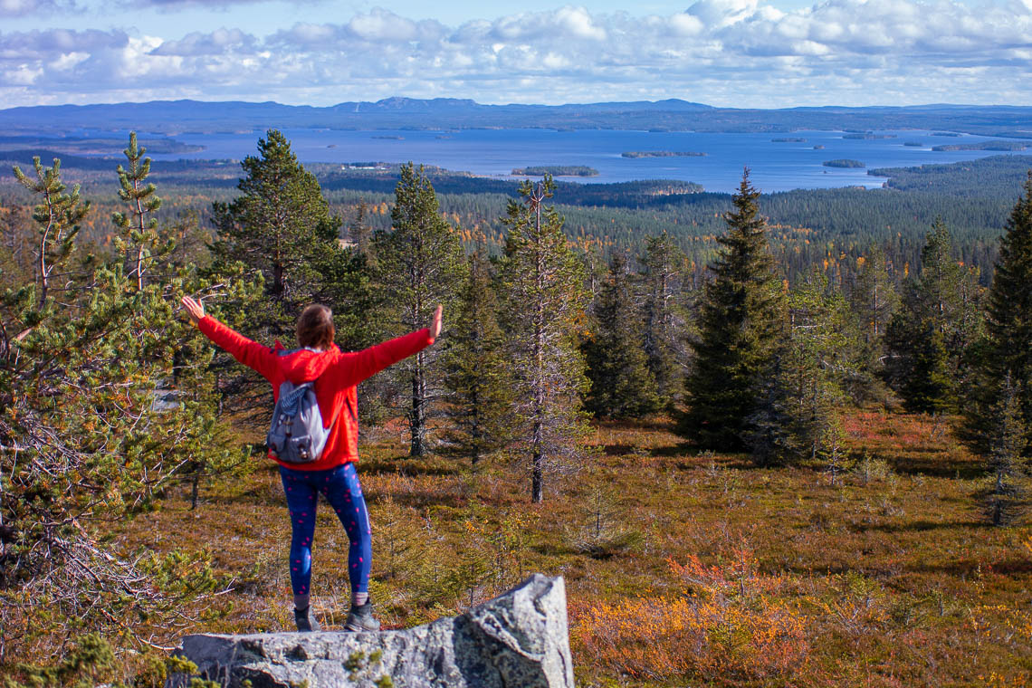 Indian Summer in Lappland - Aktivurlaub im herbstlichen Lappland - Riisitunturni Nationalpark