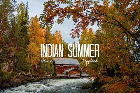 Indian Summer in Finnland - Aktivurlaub im herbstlichen Lappland