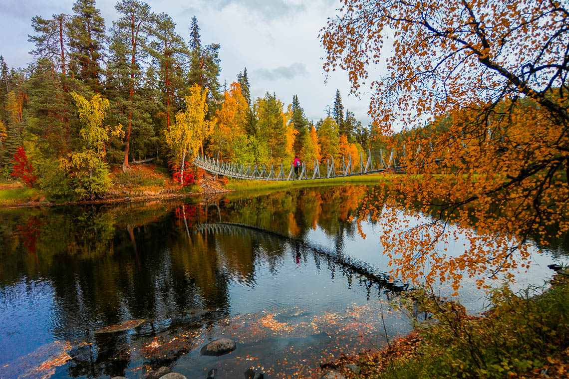 Indian Summer in Lappland - Aktivurlaub im herbstlichen Lappland - Oulanka Nationalpark