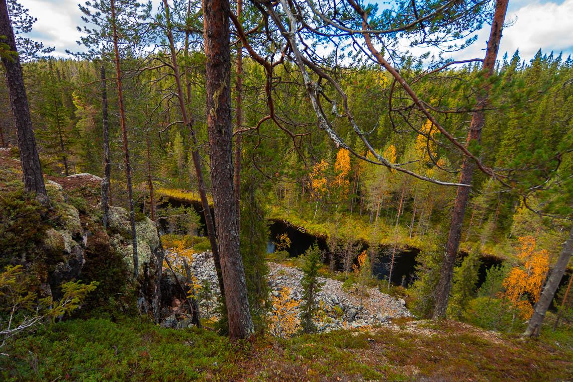 Indian Summer in Lappland - Aktivurlaub im herbstlichen Lappland - Julma Ölkky