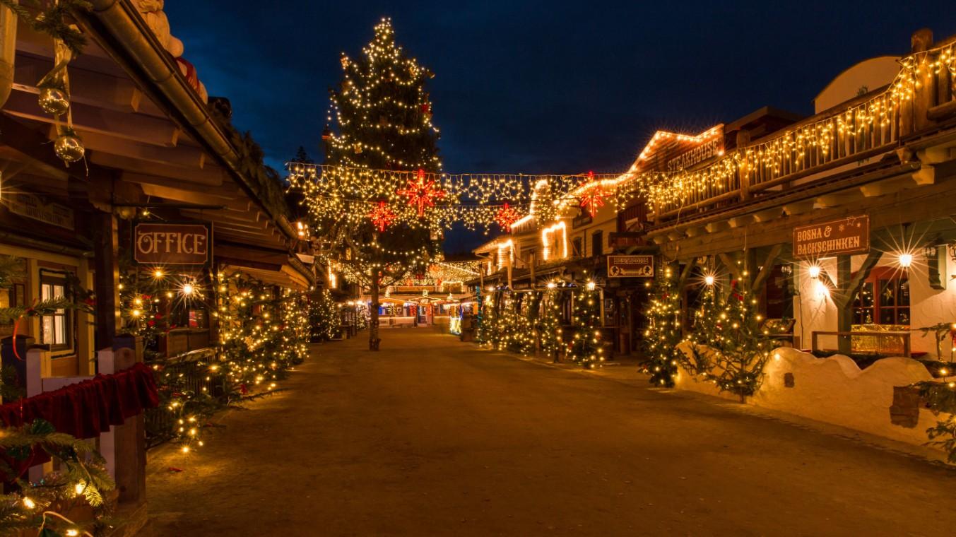 Besondere Weihnachtsmärkte in Deutschland - Westernstadt