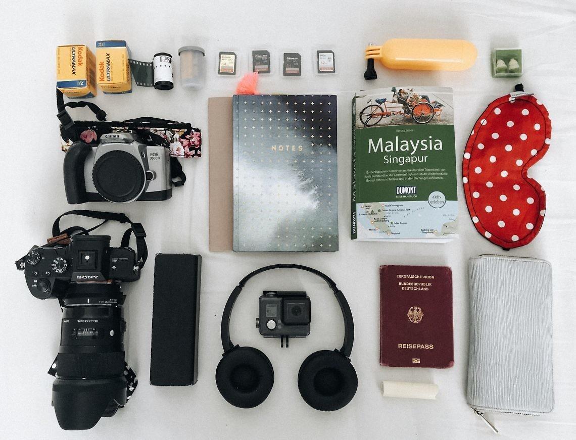 Rundreise Malaysia: Route & Reisevorbereitung für 2 Wochen: Packliste Malaysia
