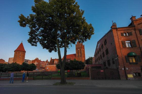 Das historische Zentrum von Lębork