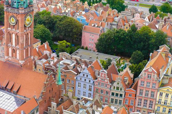 Aussicht von der Marienkirche