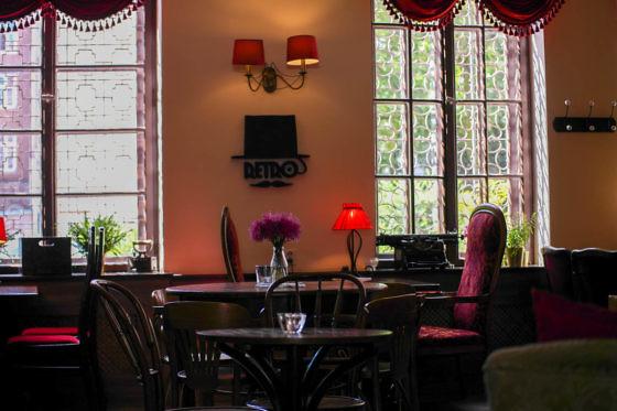 Das Retro Café in Danzig