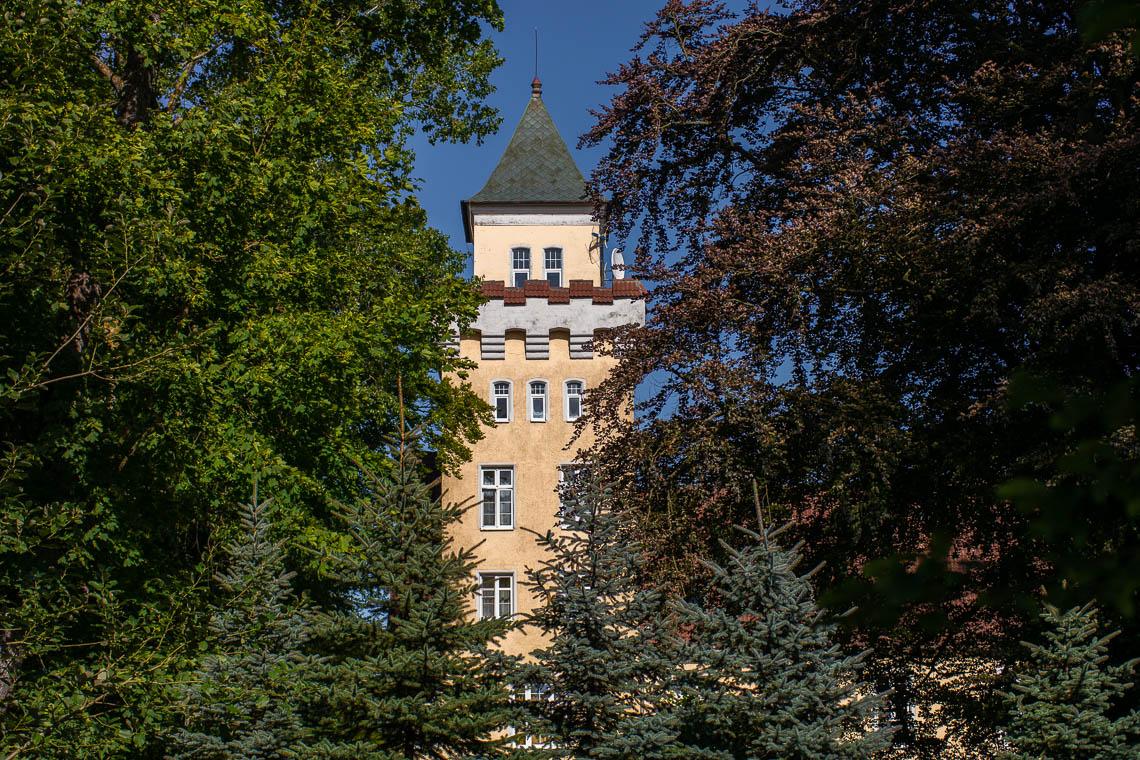Schloss Nowecin in Leba