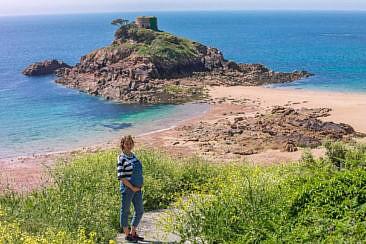 Portelet Bay auf Jersey