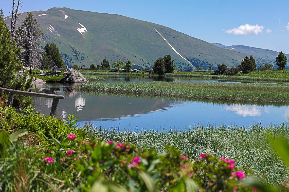 Wandern in Kärnten: Windebensee