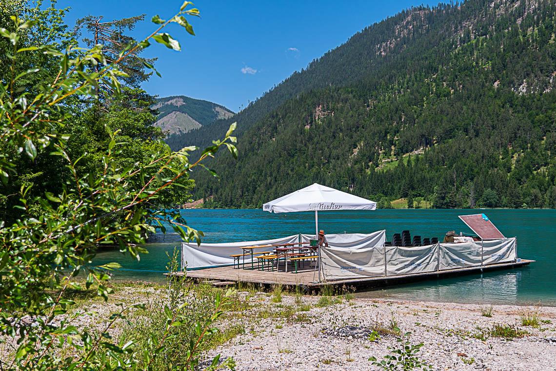 Wandern in Kärnten mal anders Magischer Moment Weissensee