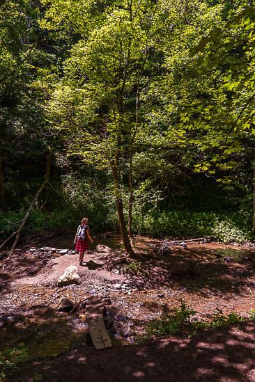 Wandern in Kärnten: Abenteuer-Wasserweg Liebenfels
