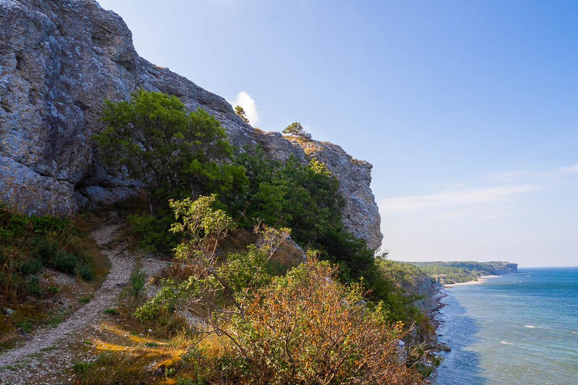 Radtour auf Gotland - Högklint