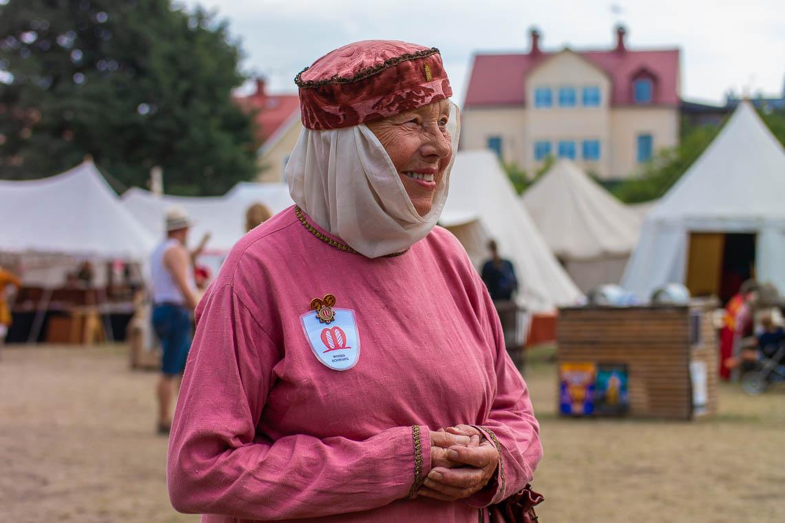 Viveka Schwartz, Inititatorin der Mittelalterwoche