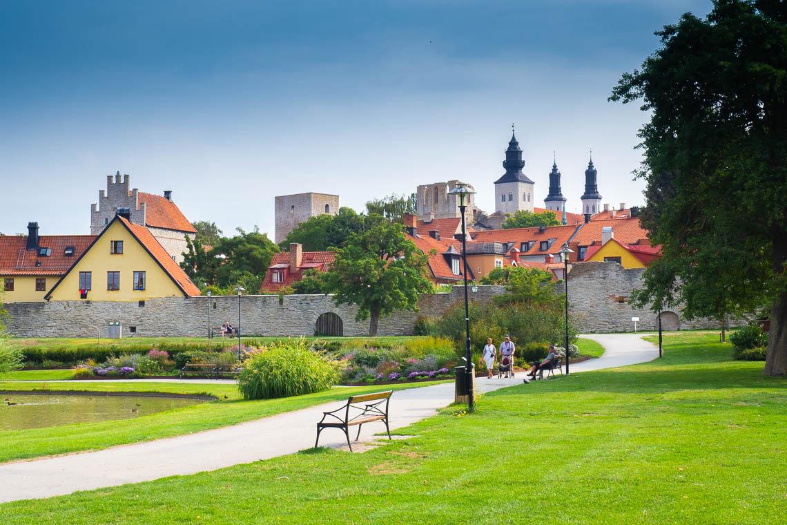 Park Almedalen in Visby