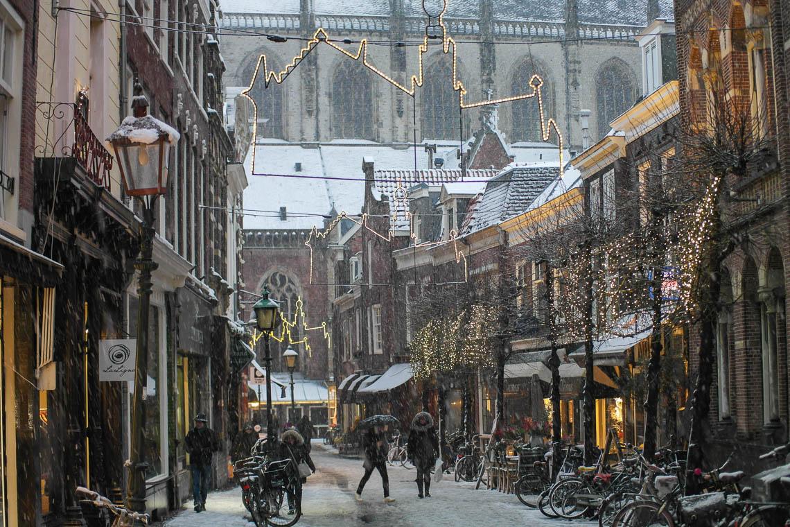 Haarlem im Winter