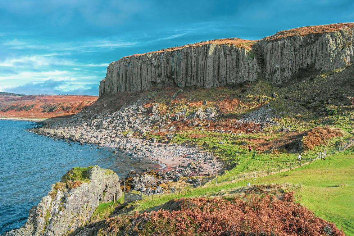 Isle of Arran - Doon Fort