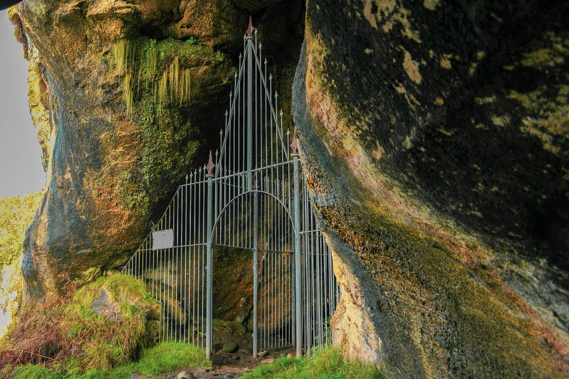 Die King's Cave auf der Isle of Arran