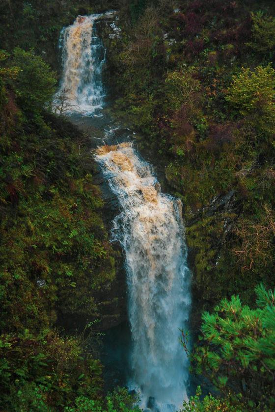 Isle of Arran - Glenashdale Falls Wanderung