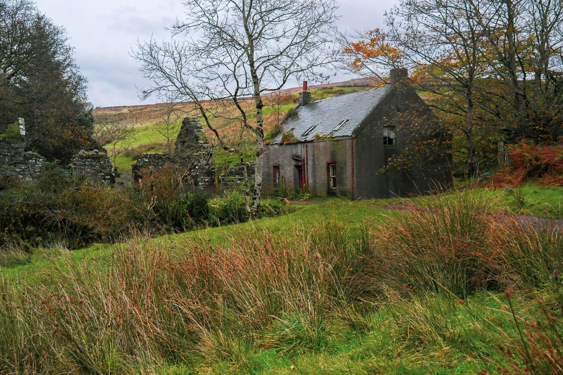 Ruine auf der Isle of Arran
