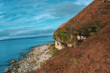 Isle of Arran - Kings Cave
