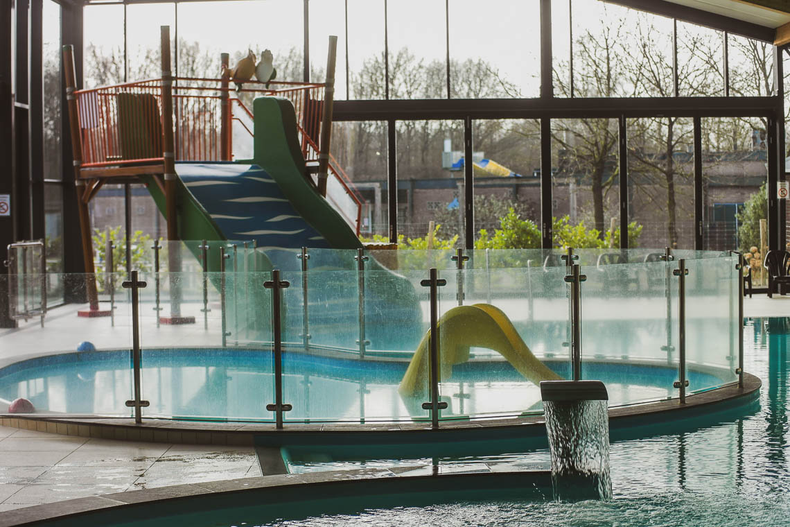 Schwimmbad auf dem Campingplatz