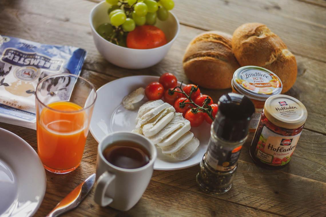 Frühstück im Baumhaus