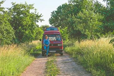 Bulli Roadtrip mit Rent a Bulli bei Landvergnügen