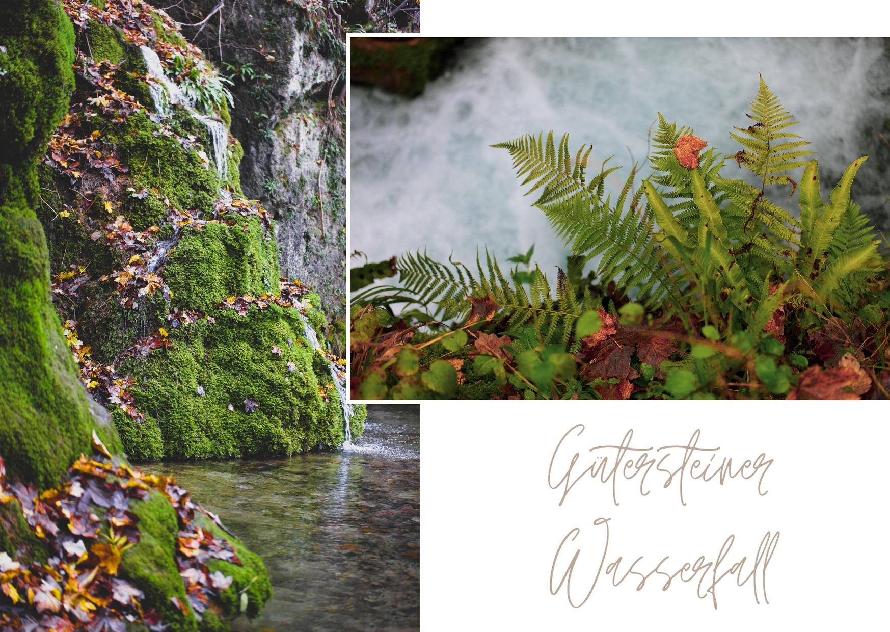 Besondere Ausflugsziele in Baden-Württemberg - Gütersteiner Wasserfälle