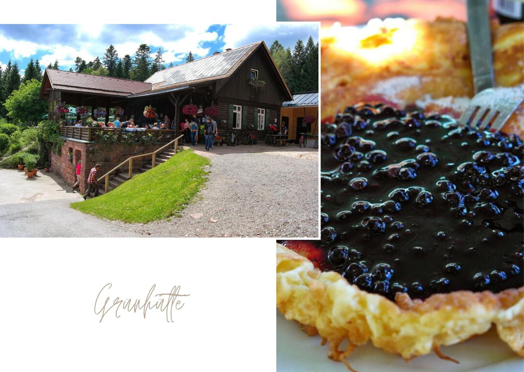 Grünhütte im Schwarzwald