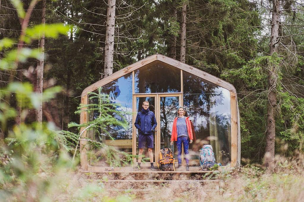 Hütten-Trekking in Holland