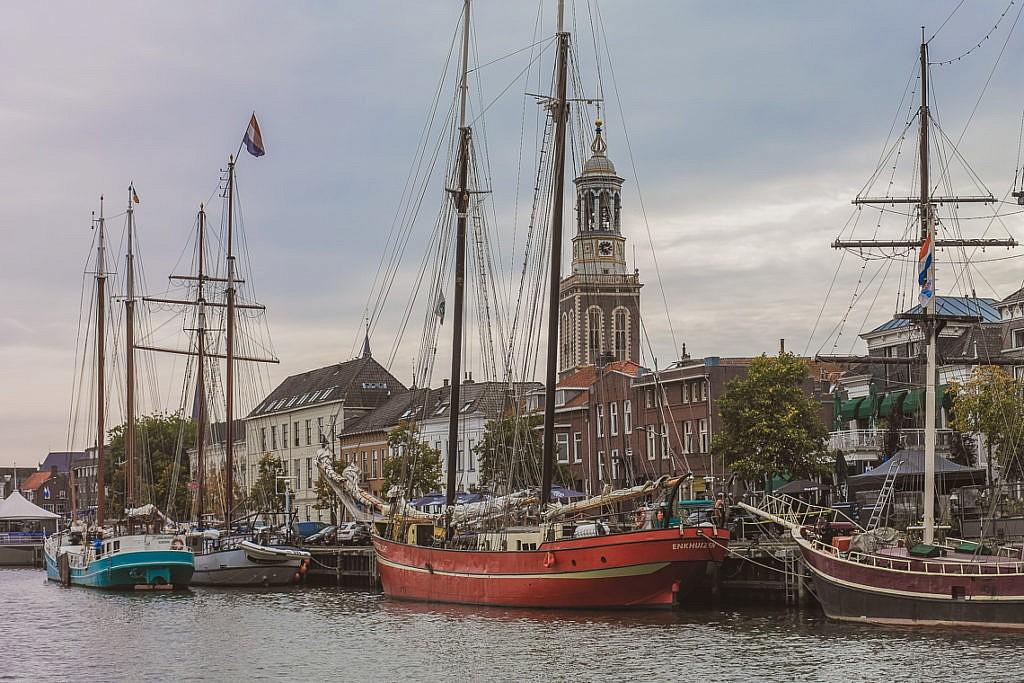 Die Hansestadt Kampen vom Wasser aus