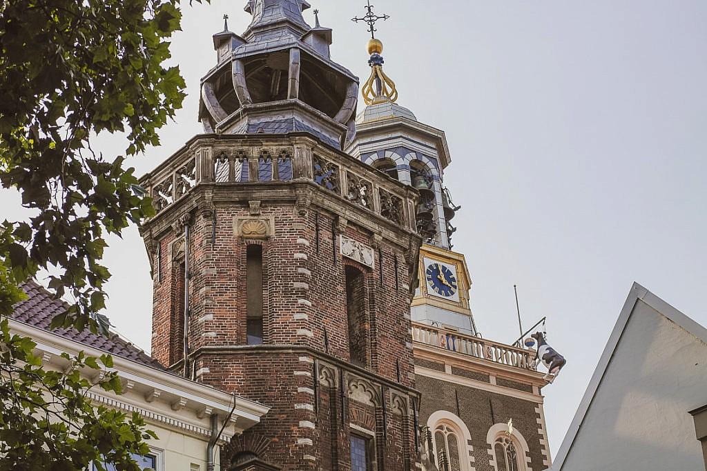 Hansestadt Kampen Sehenswürdigkeiten Nieuwe Toren Kuh