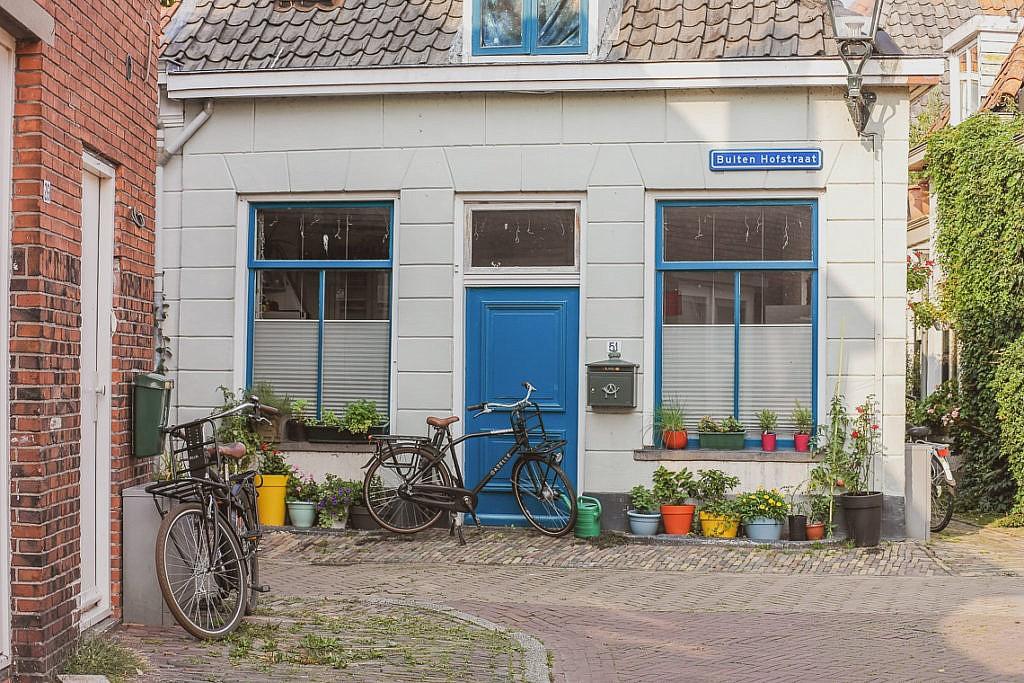 Süße Häuschen in Kampens Innenstadt
