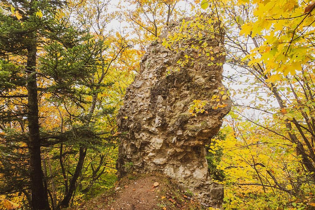 Traufgang Felsenmeersteig Schwäbische Alb