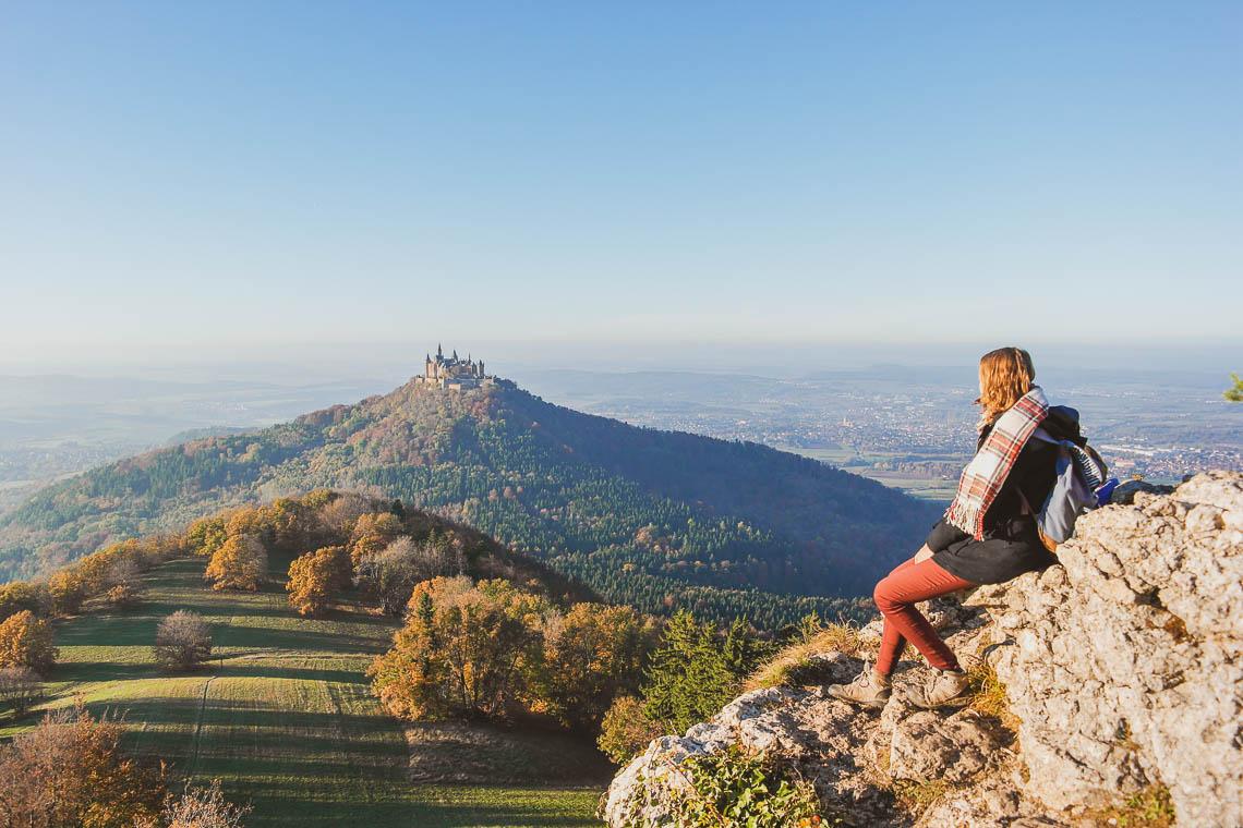 Hohenzollernblick vom Zeller Horn