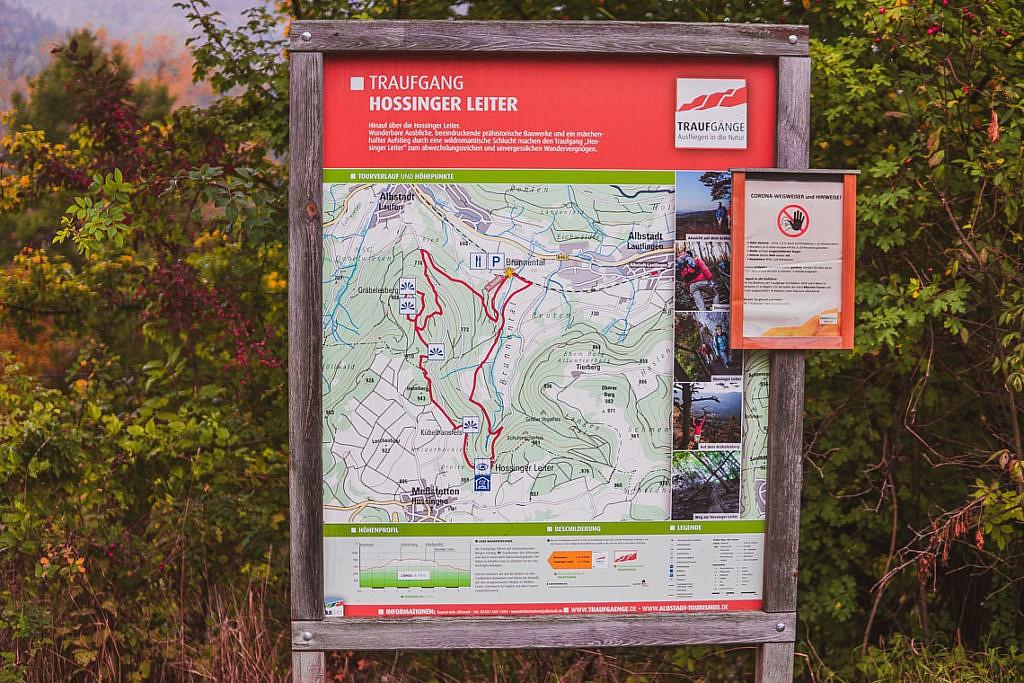 Traufgänge Schwäbische Alb: Panorama-Wandern in Baden-Württemberg - Hossinger Leiter