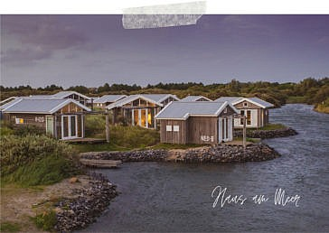 Aktivurlaub in Zeeland: Ein Haus am Meer auf dem Brouwersdam