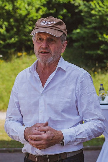 Franz Tress vom Albgut Altes Lager
