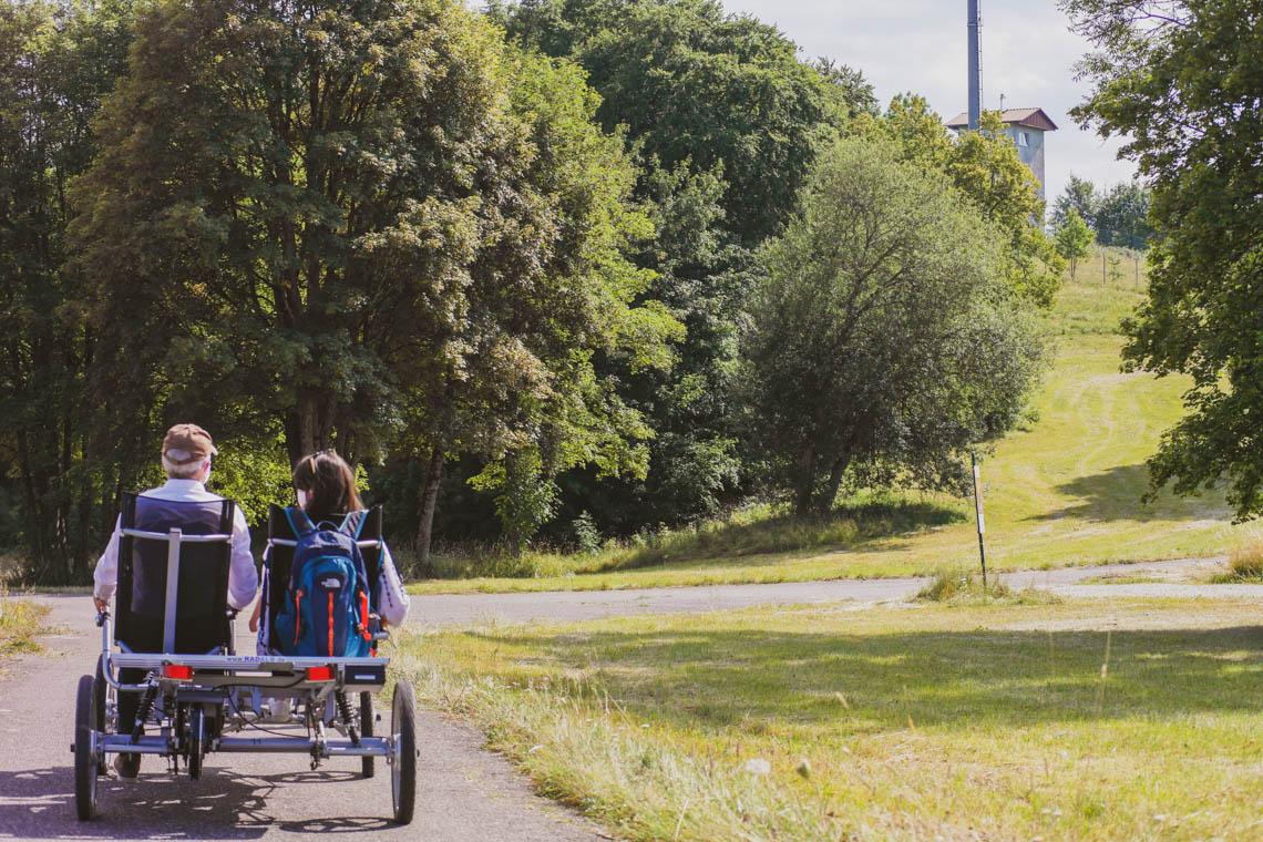 Unterwegs mit den Rädern von Radalb