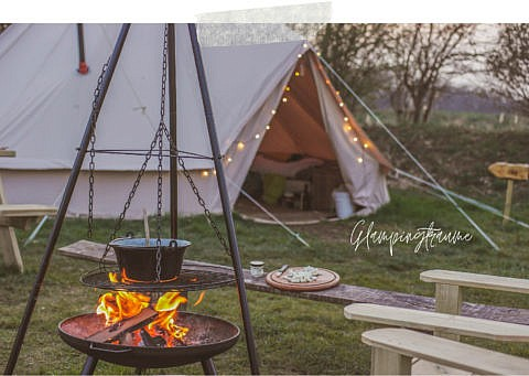 Glamping in Holland