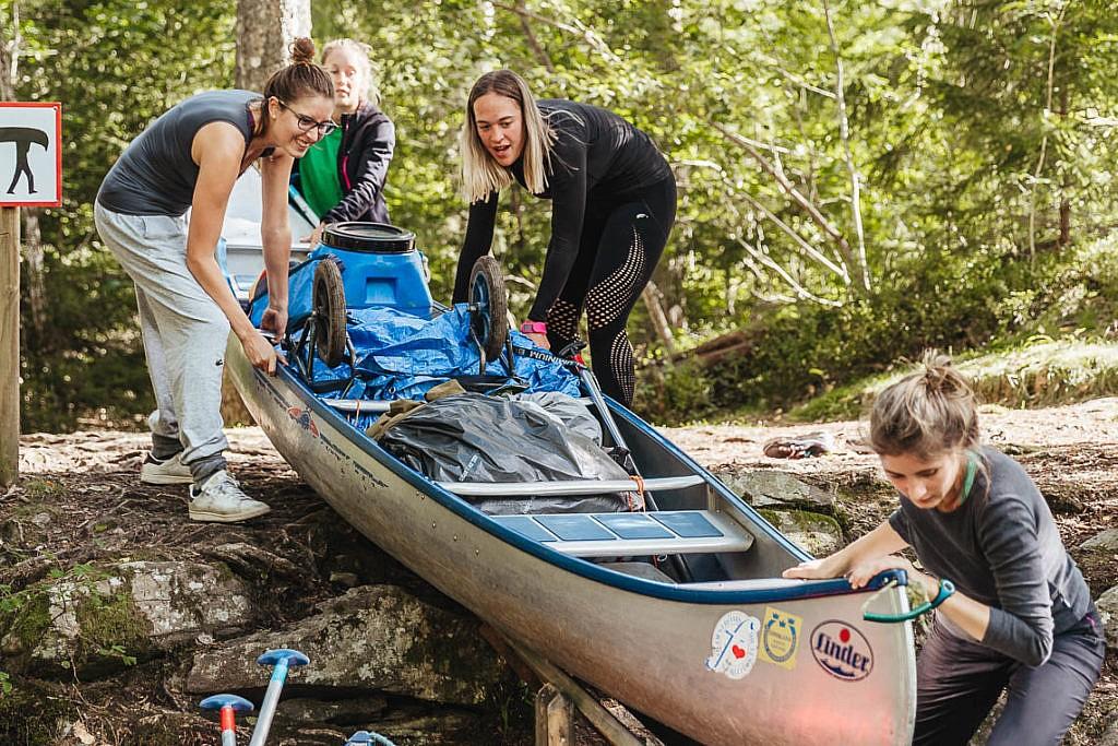 Der Kanu Trip in Schweden