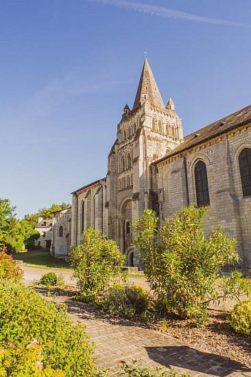 Cunault - schönes Dorf entlang der Loire
